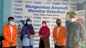 LAZ Opsezi Menerima Mahasiswa Magang Prodi Ekonomi Islam UNJA